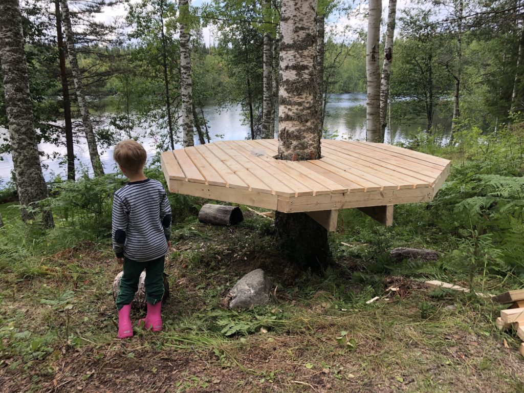 Building a tree house with a focus on the well being of the tree the new generalist - Make a house a home ...